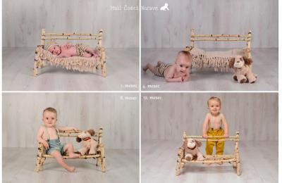 Fotografiranje novorojenčkov, dojenčkov, družin in nosečnic