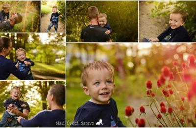 Fotografiranje novorojenčkov, dojenčkov, otrok, družin, nosečnic